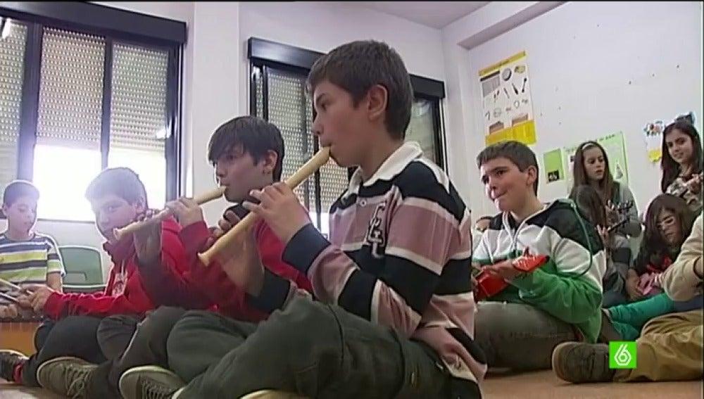 Los colegios se niegan a prescindir de la música