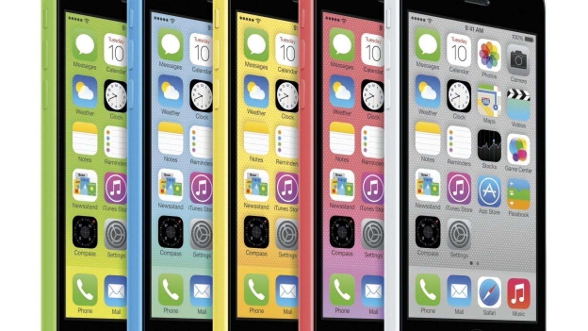 iPhone 5C, colorines a gogó