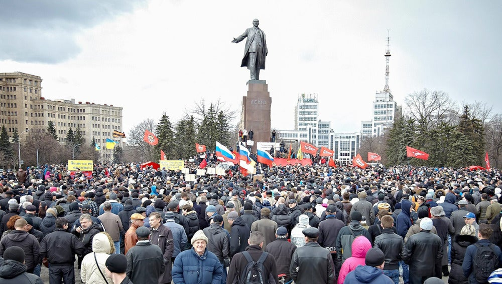 Prorrusos en Kiev