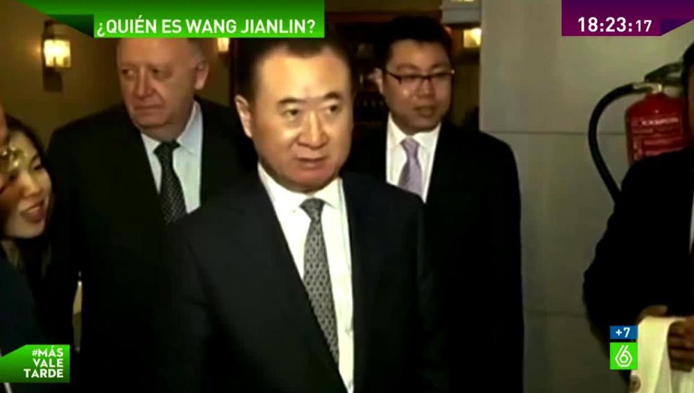 Wang Jianlin en una imagen de archivo