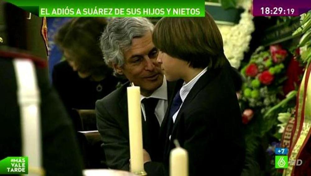 El hijo y el nieto de Adolfo Suárez