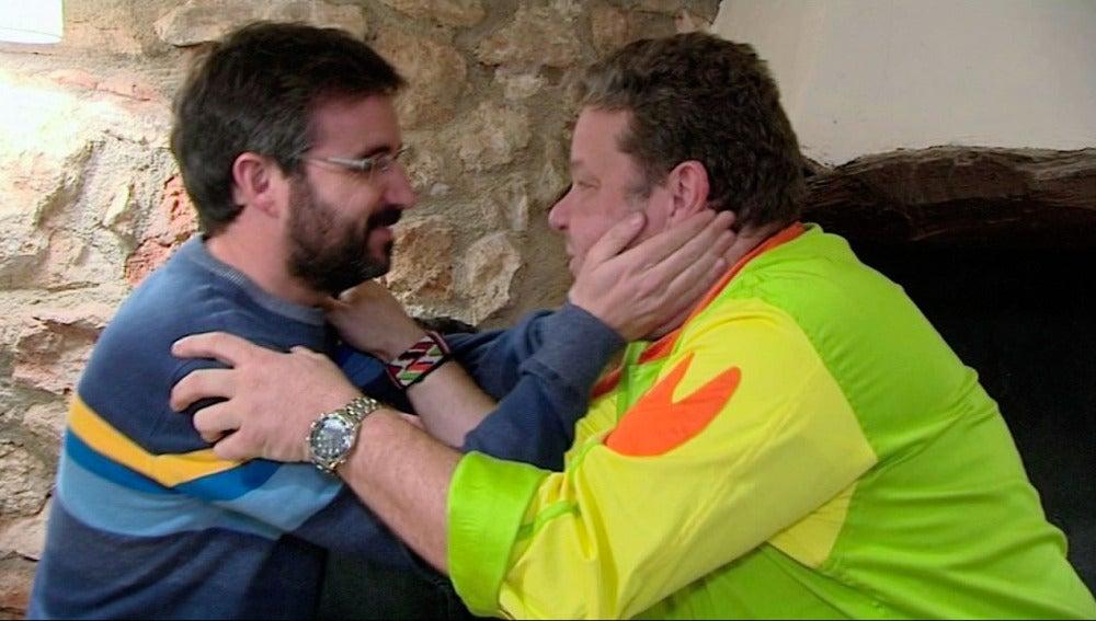 Jordi Évole con Alberto Chicote