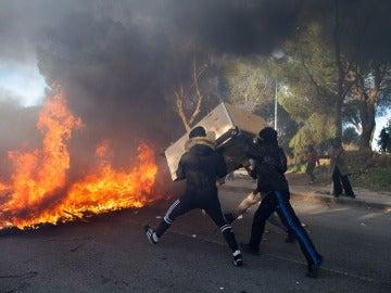Disturbios en la Universidad Complutense