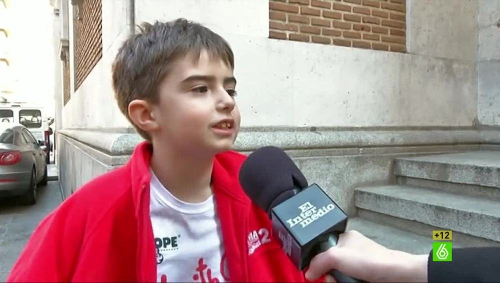 Los niños hablan de la crisis y el fútbol