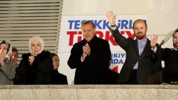 El primer ministro turco, Recep Tayyip Erdogan, y su islamista Partido Justicia y Desarrollo (AKP)