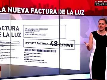 Inés García analiza la nueva factura de la luz
