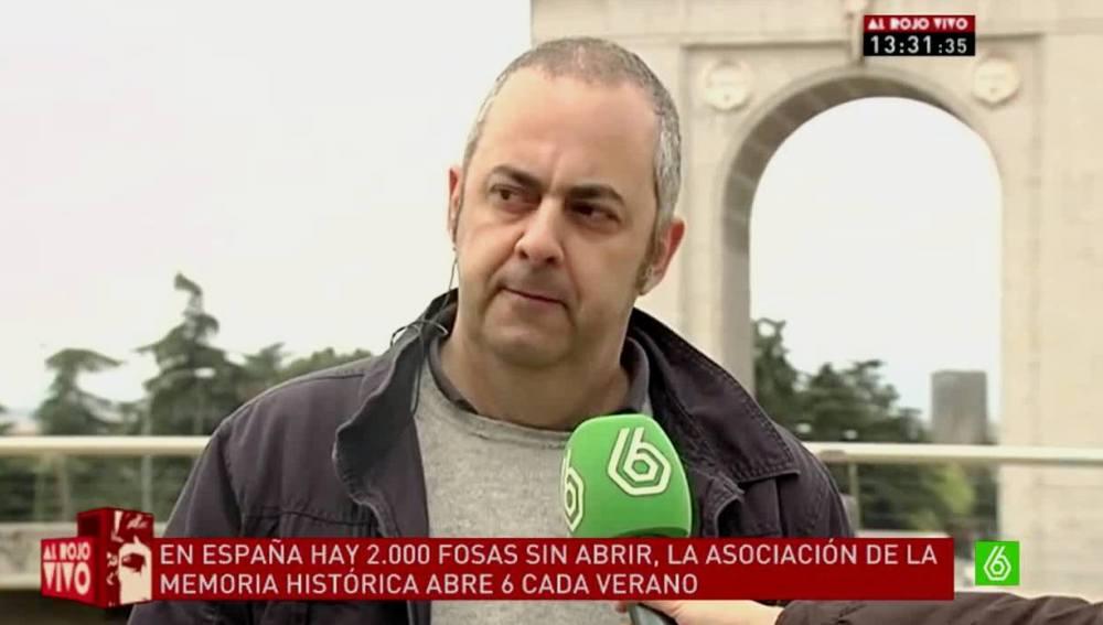 Silva, presidente Memoria Histórica
