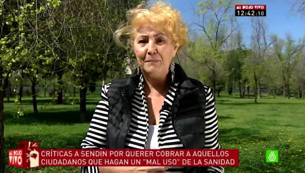Carmen Flores, defensora del paciente