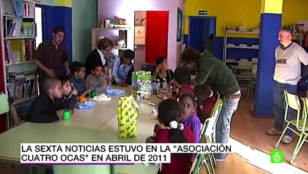 Niños de la asociación 'Cuatro Ocas'