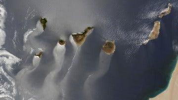 Las Islas Canarias, vistas por la NASA
