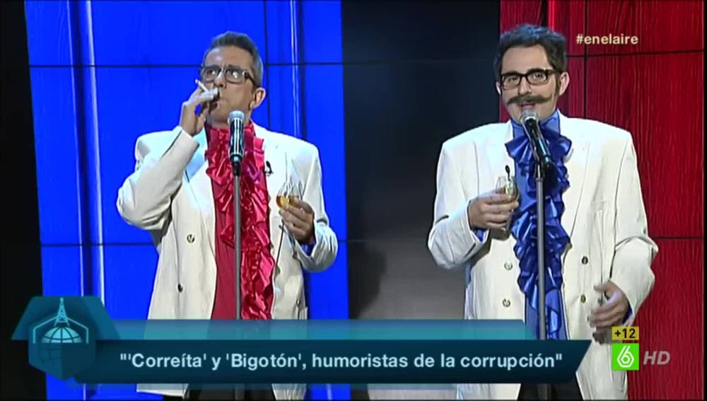 Correíta y Bigotón