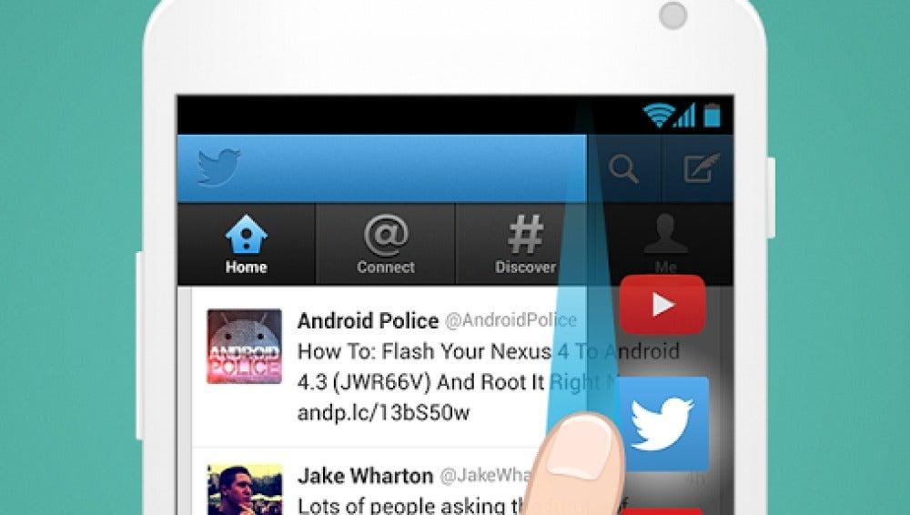 Captura de Cover, ahora en manos de Twitter