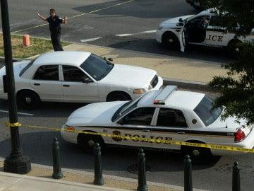 Coches de policía de EEUU (Archivo)
