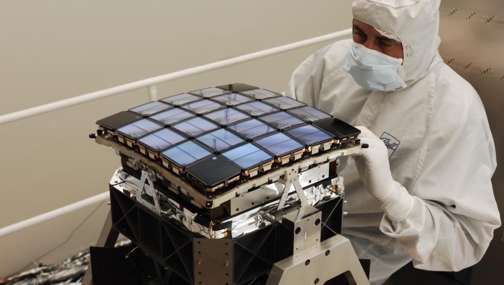 Imagen del fotómetro de Kepler antes de ser instalado en la sonda