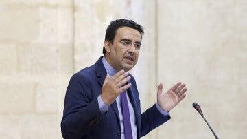 El portavoz del PSOE, Mario Jiménez