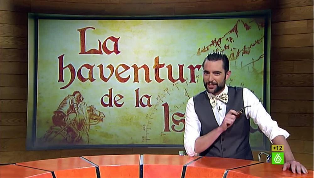 """Dani Mateo en """"La haventura de la Istoria"""""""