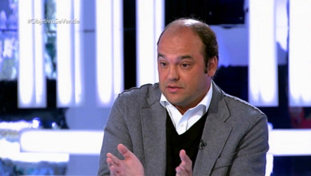 José Carlos Díez, en un momento de su intervención en 'El Objetivo'