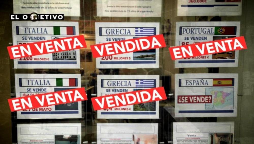 Los países europeos venden su patrimonio