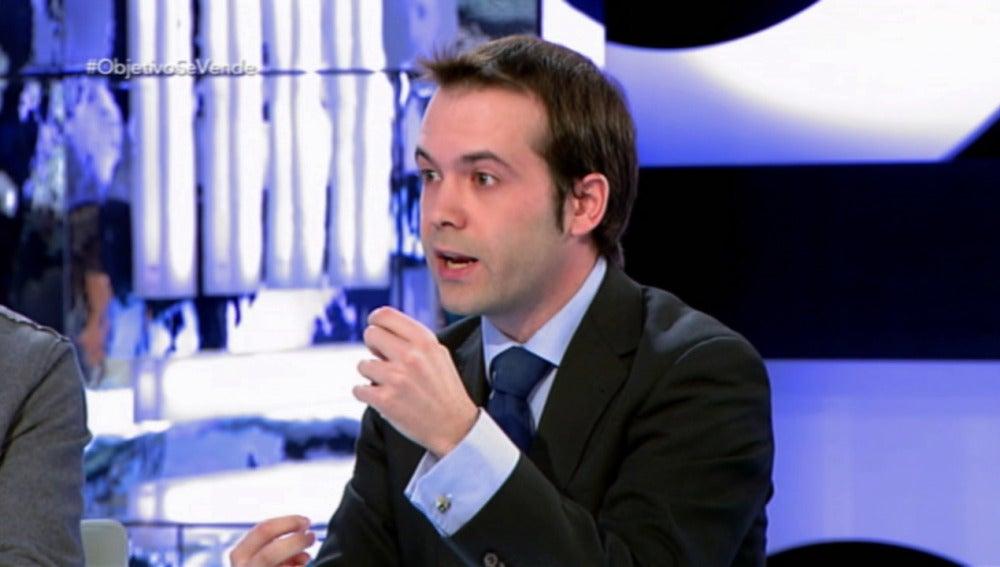 Juan Ramón Rallo, en su intervención en 'El Objetivo'