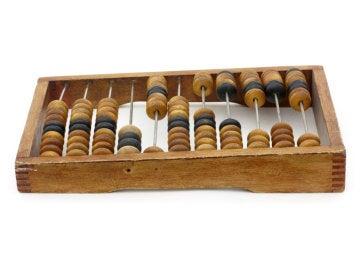 Los ábacos chinos se usaban hace más de dos mil años.