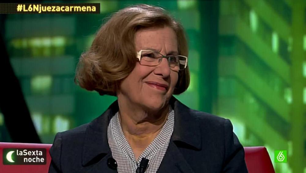 Jueza Manuela Carmena