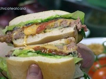 La hamburguesa del 'Alcalá 125'