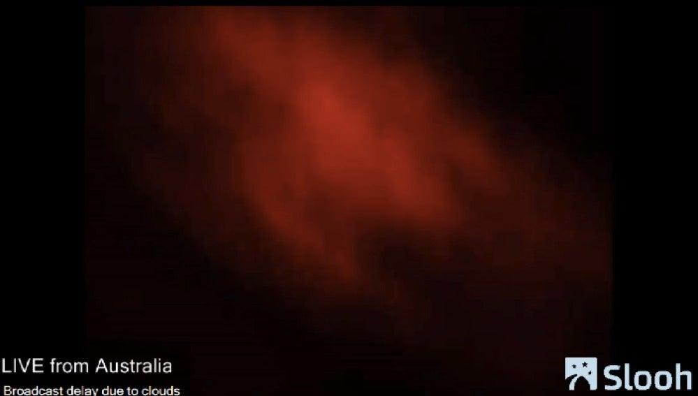 Las nubes impidieron ver el eclipse