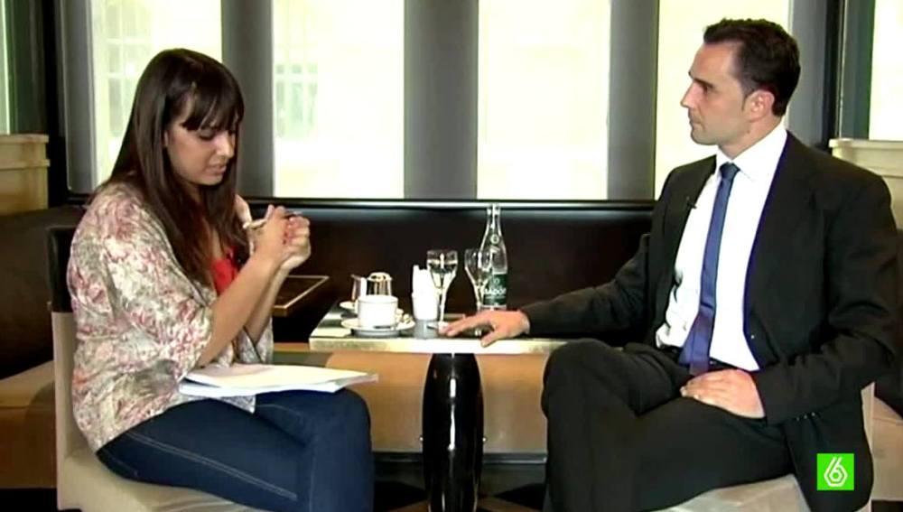 Entrevista a Falciani en 'Más Vale Tarde'