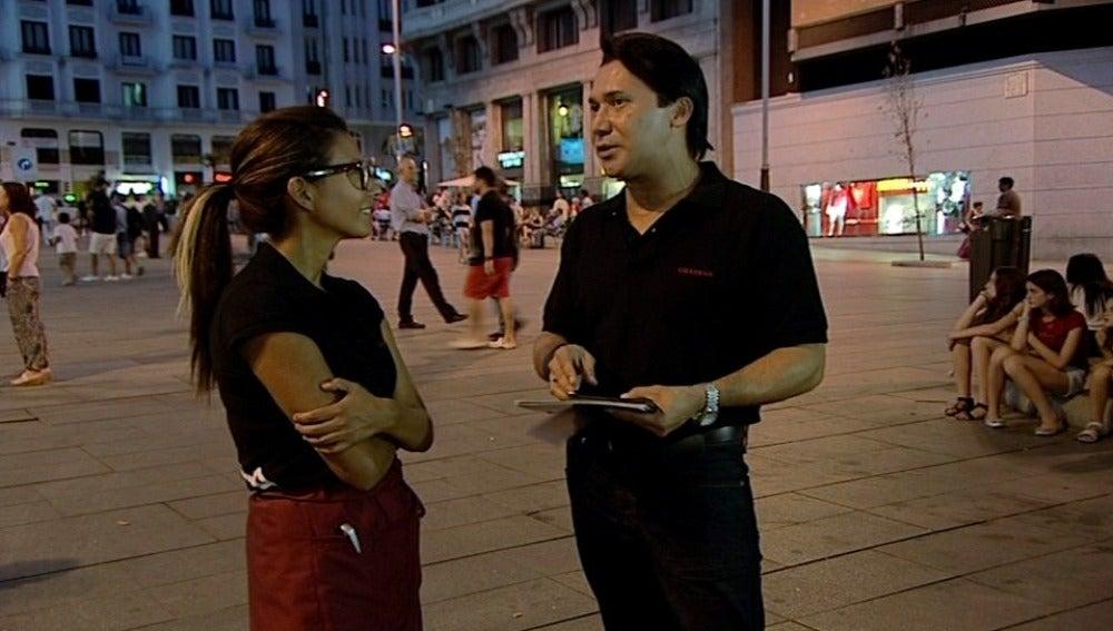 Adrián, el encargado de una de las tabernas que más factura de Lizarrán