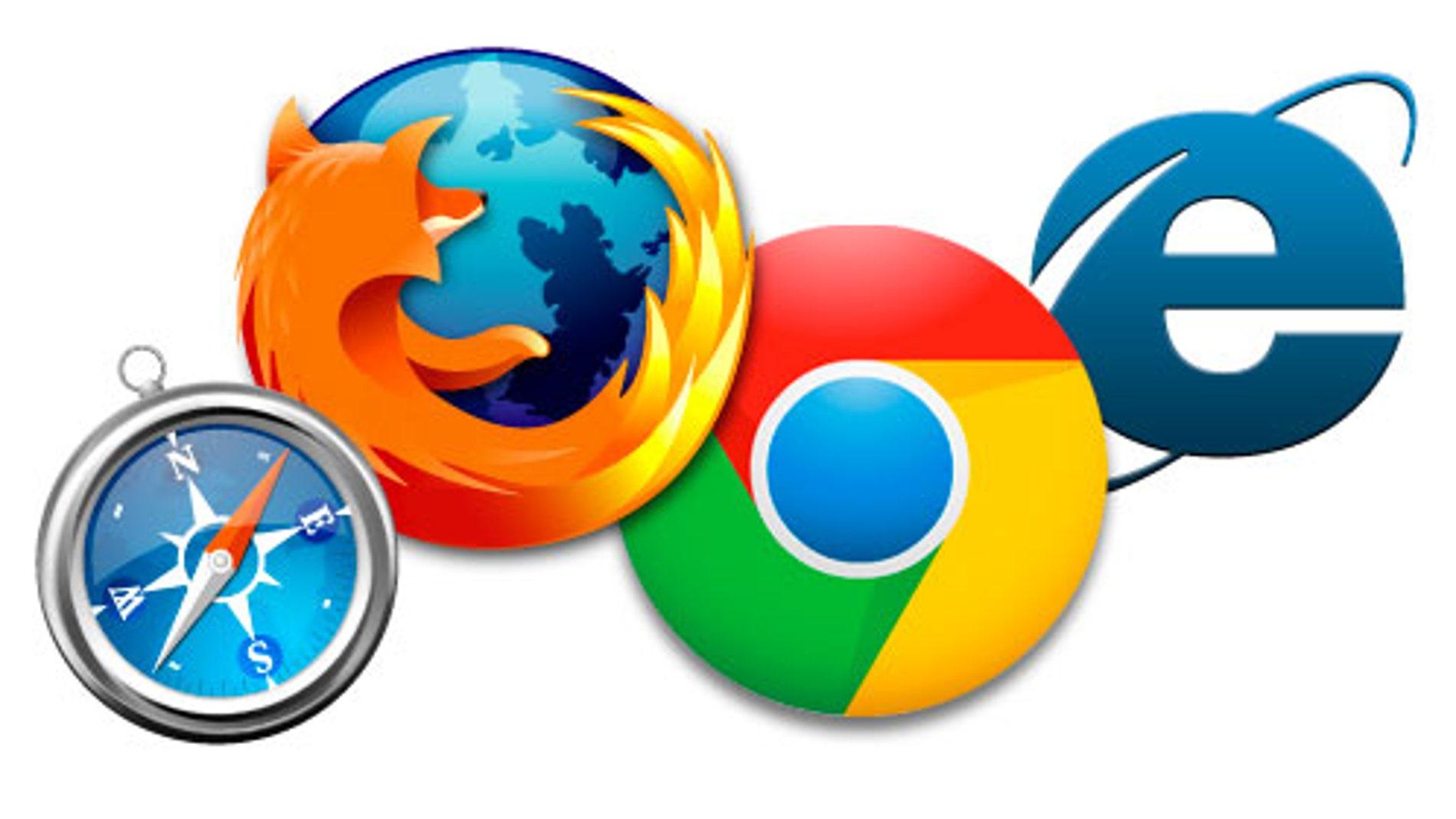 Iconos de los principales navegadores