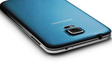 Vista trasera de un Samsung S5