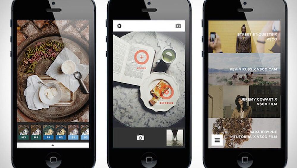 VSCO Cam no es una app de retoque fotográfico cualquiera