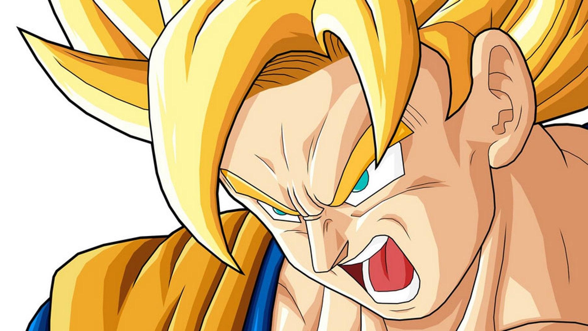 Son Goku, en modo superguerrero