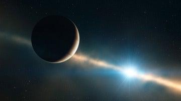 El exoplaneta Beta Pictoris b