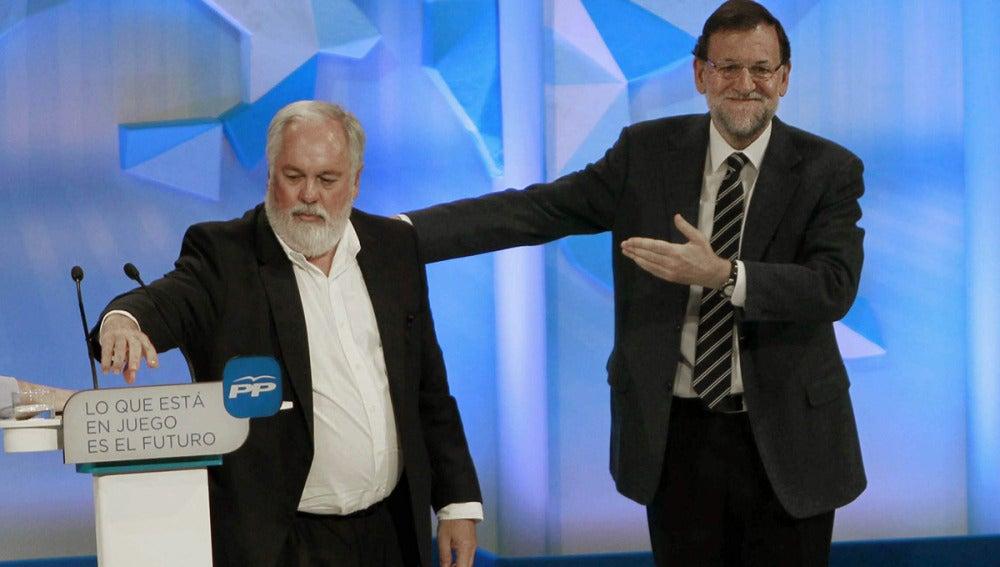 Cañete y Rajoy