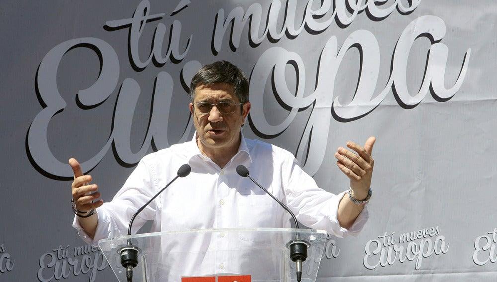 El secretario general de los socialistas vascos, Patxi López