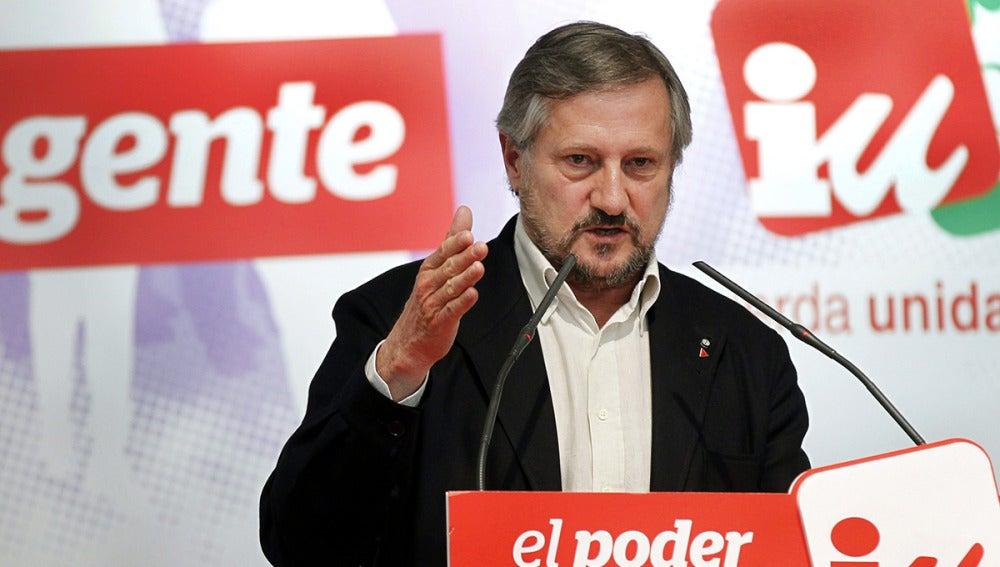 El cabeza de lista de Izquierda Plural a las elecciones europeas, Willy Meyer