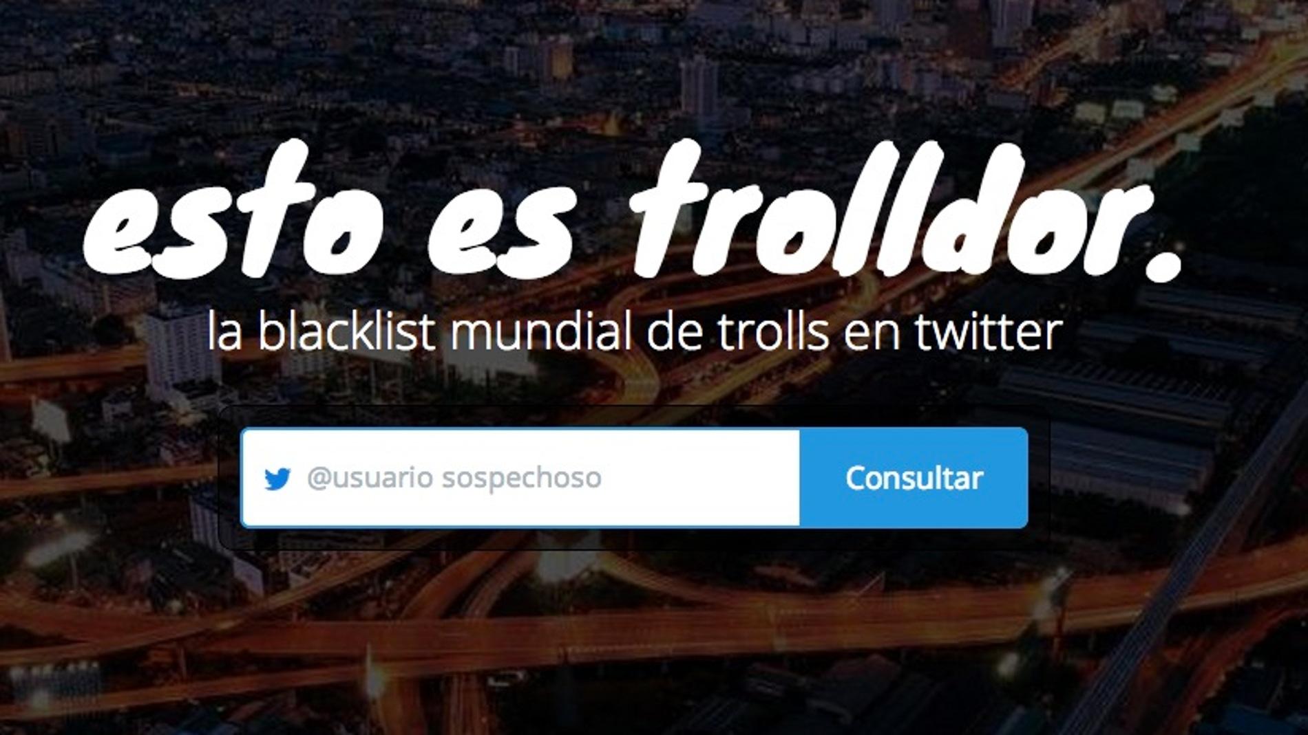 Una lista negra con los trolls de Twitter