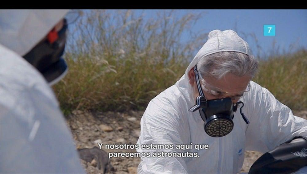 Jordi Évole busca radiación en Salvados