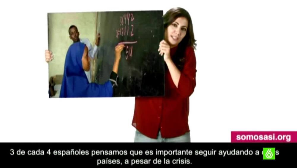 Ana Pastor apoya la campaña 'Somos'