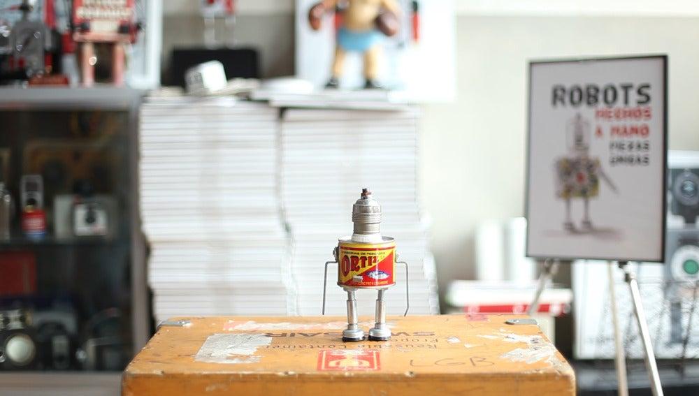 Un robot de Javier Pitarque