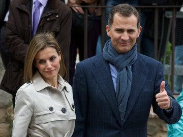 Felipe y Letizia celebran el décimo aniversario de su boda