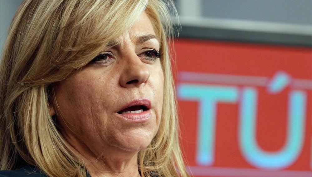 Elena Valenciano analiza los resultados del PSOE