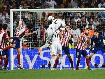 El gol de Sergio Ramos en Lisboa