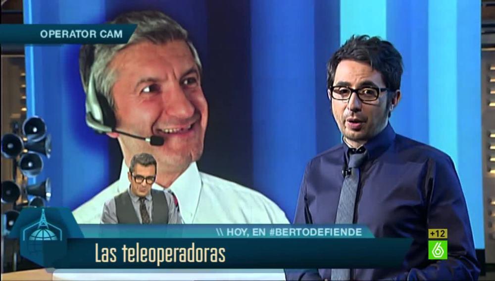 Monólogo de Berto sobre las teleoperadoras