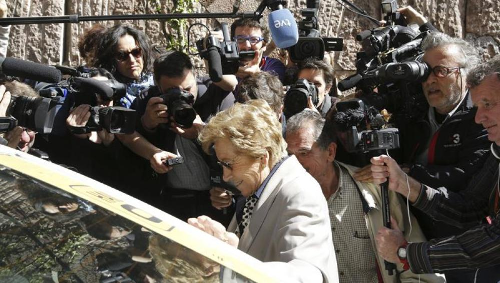 Una de las víctimas del franquismo llega a la Audiencia Nacional