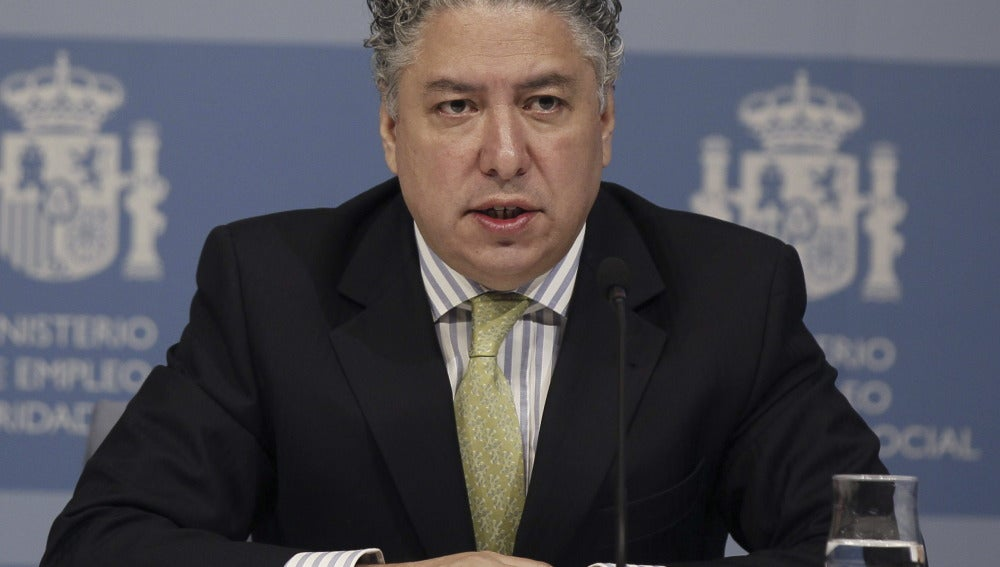 El secretario de Estado de Empleo y de Seguridad Social, Tomás Burgos