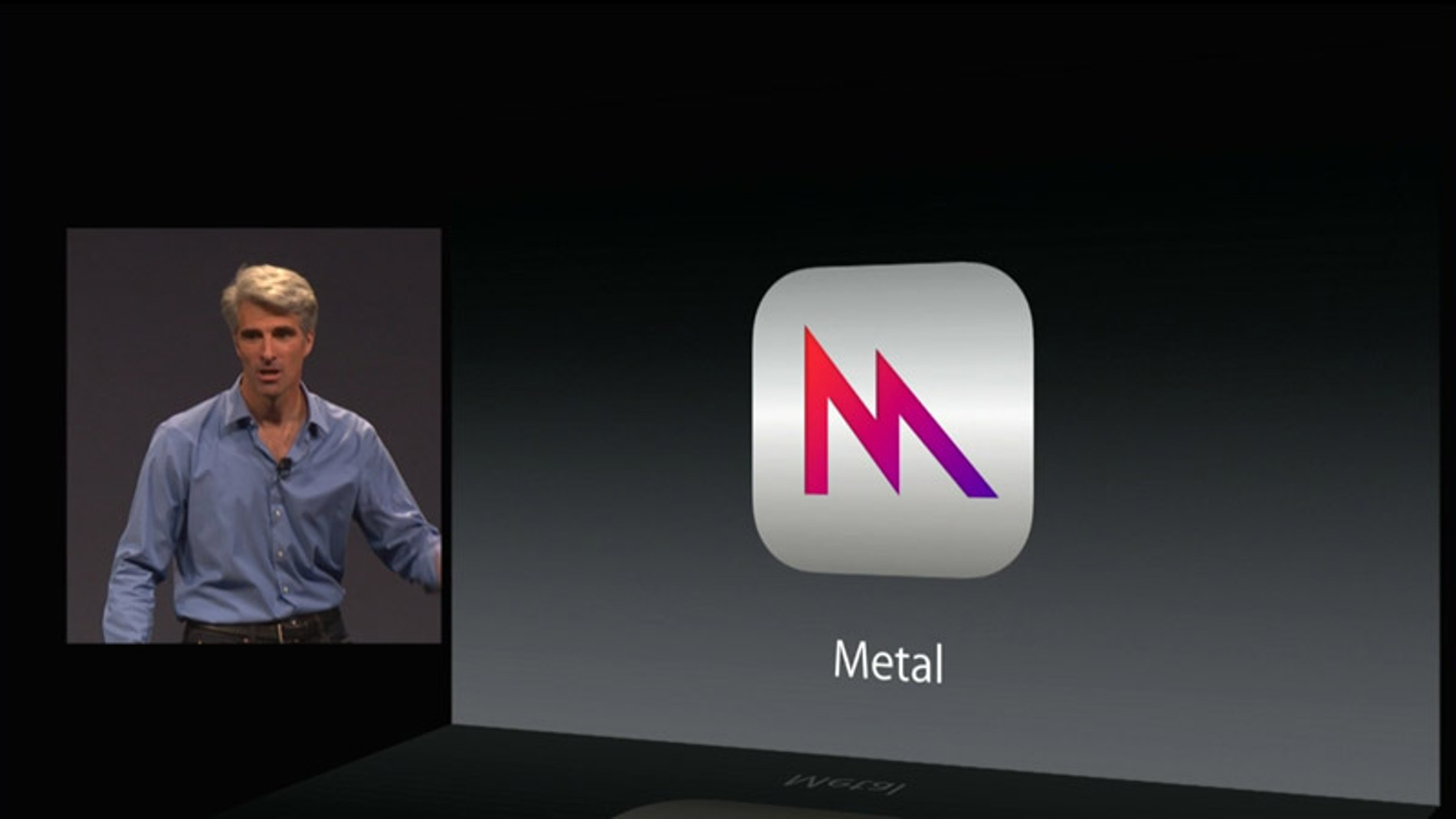 Craig Federighi, de Apple, presenta la nueva plataforma de juegos