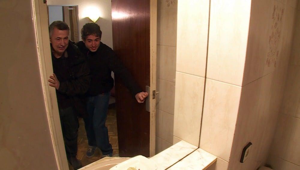 Enrique Rubio entra en su nueva casa