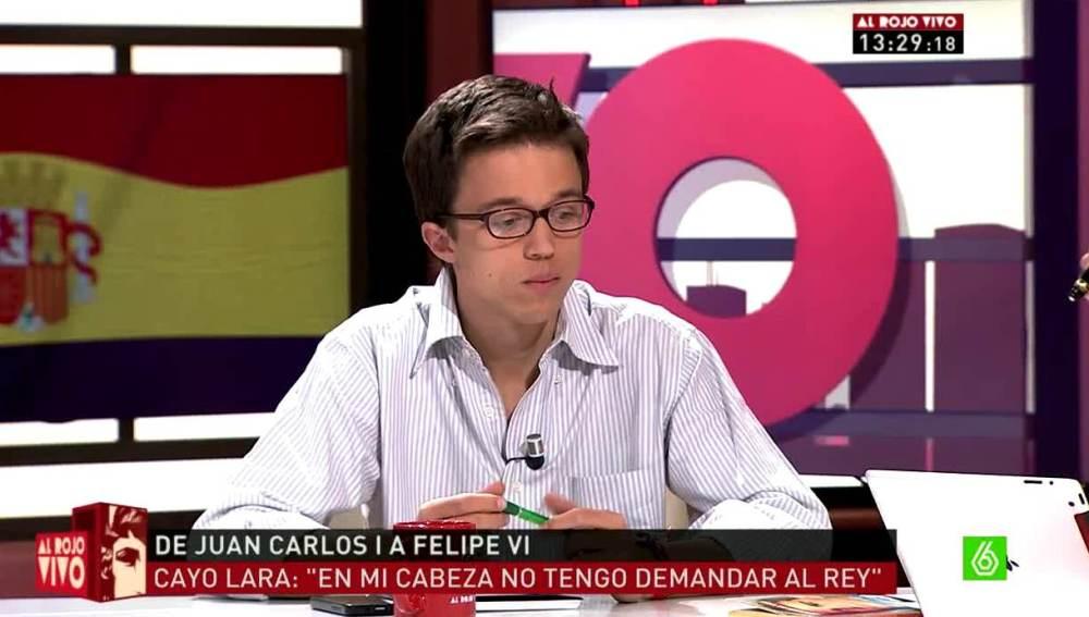 Íñigo Errejón en ARV